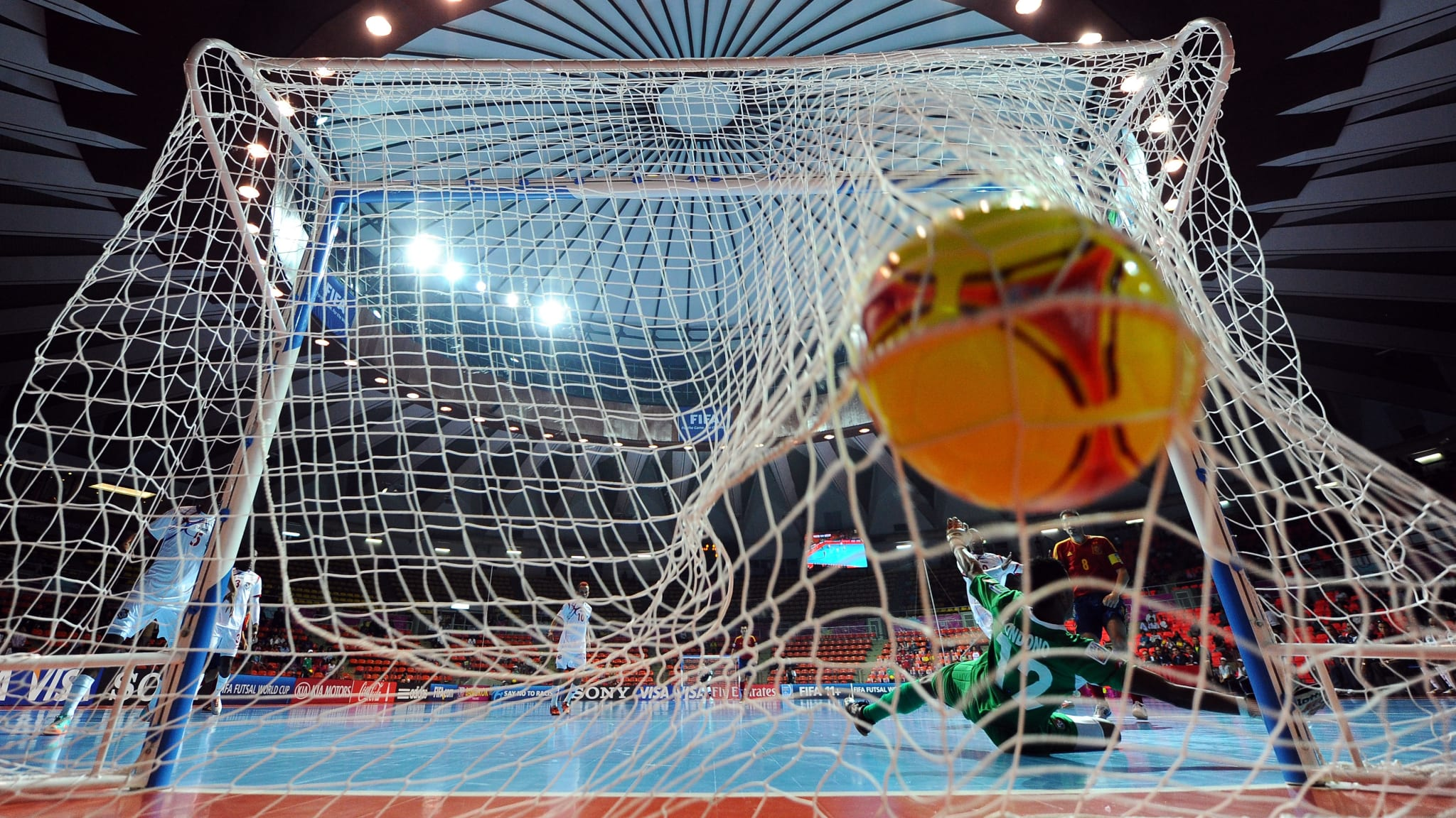 Action from the FIFA Futsal World Cup